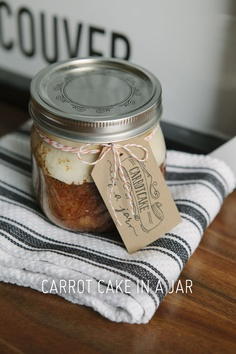 The Best Carrot Cake in a Jar