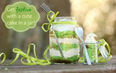 Cute Cake In A Jar