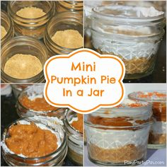 Mini Pumpkin Pie in a Jar: Guest Post