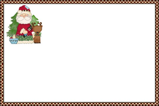 holiday recipe card templates